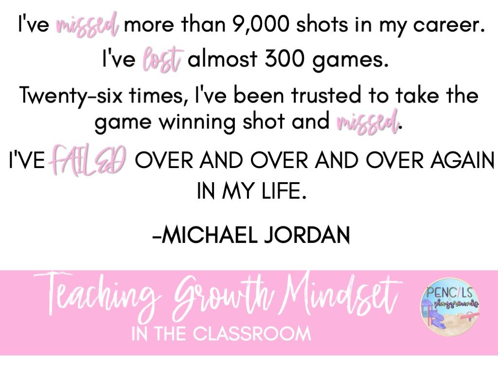 Teaching growth mindset in the classroom is a critical skill you don't want your students to lack. Today I'll be explaining my growth mindset lesson plans and the growth mindset resources I use in my classroom.