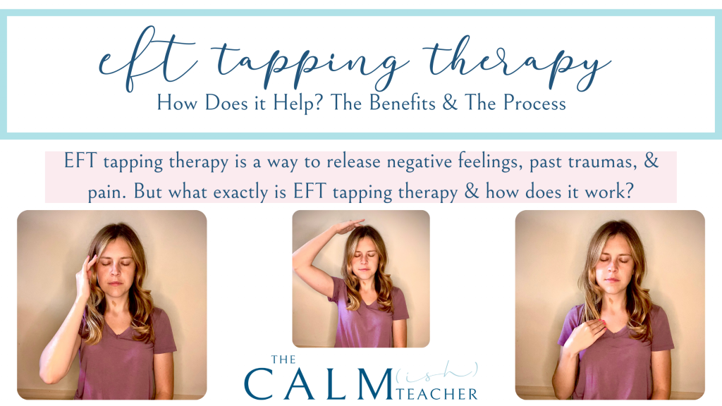 EFT tapping therapy is a way to release negative feelings, past traumas, & pain. But what exactly is EFT tapping therapy & how does it work?